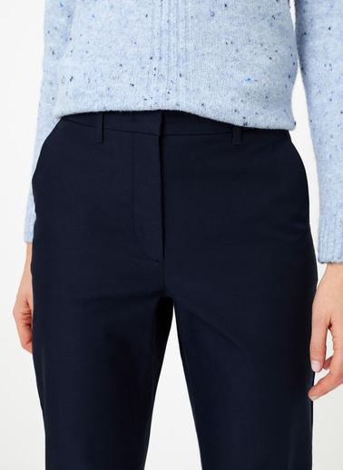 Marks & Spencer Pamuklu Straight Leg Chino Pantolon Lacivert